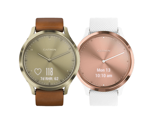vívomove™ HR - Premium Smart Analog Watch